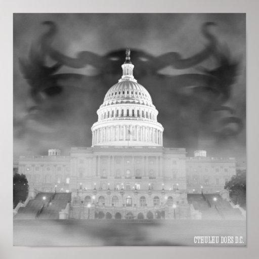 Cthulhu hace el poster de DC
