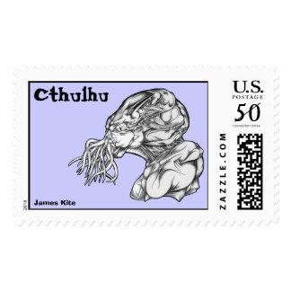 Cthulhu Head Postage