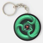 Cthulhu Heart Keychain