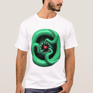 Cthulhu Heart Performance Micro-Fiber Singlet T-Shirt