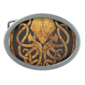 Cthulhu Hebillas De Cinturon Ovales