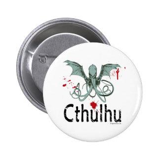 Cthulhu horror vector art pins