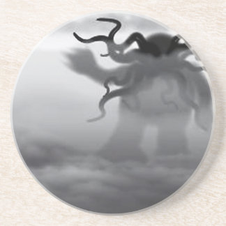 Cthulhu In The Ocean Drink Coaster