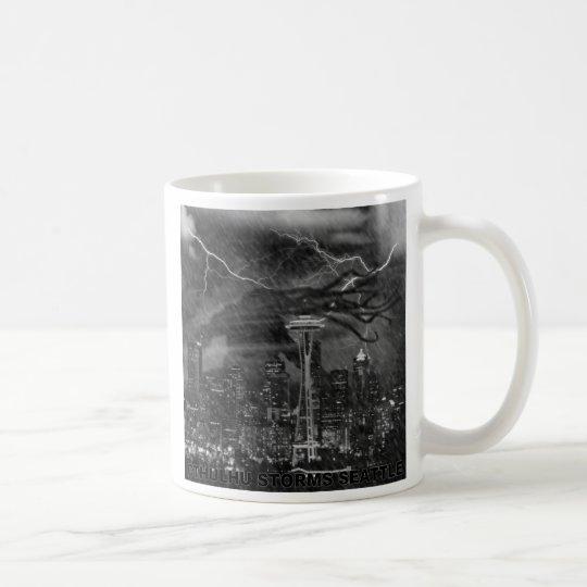 Cthulhu in the Seattle Rain Coffee Mug