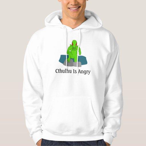 Cthulhu Is Angry Hoodie