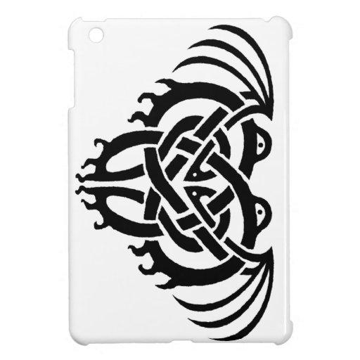 Cthulhu Knot (Black) iPad case Case For The iPad Mini