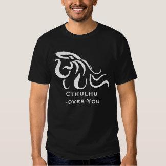 Cthulhu le ama camiseta camisas