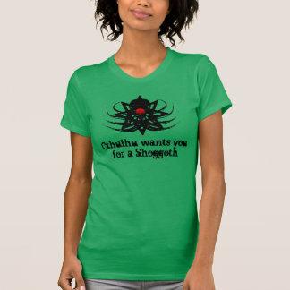 Cthulhu le quiere para un Shoggoth (erb1) T-shirt