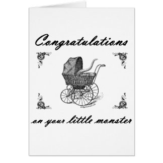 Cthulhu little monster card