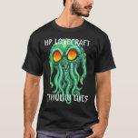 CTHULHU LIVES BLACK SHIRT