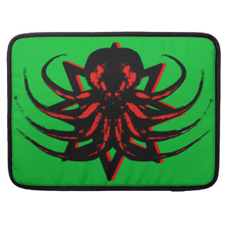 "Cthulhu Macbook Sleeve 15"" - Cthulhu Cult Emblem MacBook Pro Sleeves"