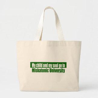 Cthulhu miskatonic university mom dad jumbo tote bag