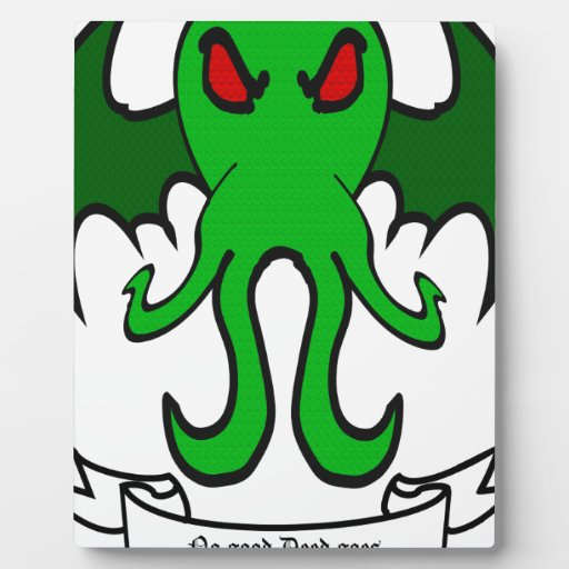 Cthulhu - No good deed goes unpunished Plaques