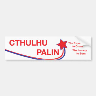 Cthulhu/Palin Campaign Sticker