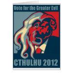 Cthulhu para el presidente 2012 felicitaciones