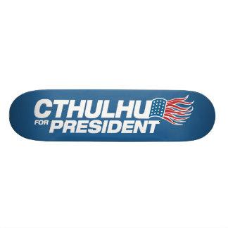 Cthulhu para el presidente - HP Lovecraft Patineta Personalizada