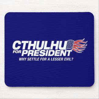cthulhu para el presidente - porqué settle para un tapete de ratones