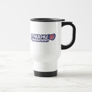 cthulhu para el presidente taza de café