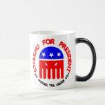 Cthulhu para el presidente tazas de café