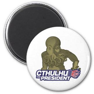 Cthulhu para presidente Magnet Imán Redondo 5 Cm