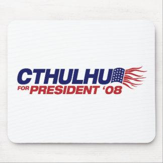 Cthulhu para presidente Mousepad Alfombrillas De Ratones