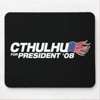 Cthulhu para presidente Mousepad Tapete De Ratones