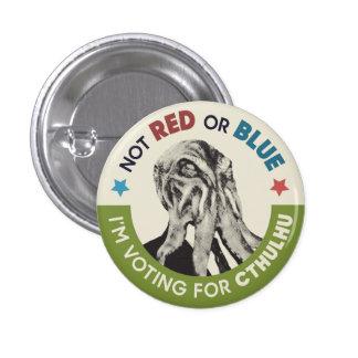 Cthulhu para presidente Partisan Chants Button Pin Redondo De 1 Pulgada