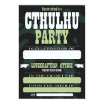 Cthulhu Party Invitations