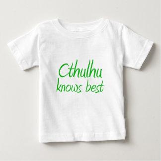 Cthulhu sabe la mejor camiseta