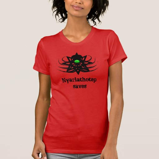 Cthulhu Shirt - Nyarlathotep Saves