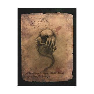Cthulhu Spawn Canvas Print