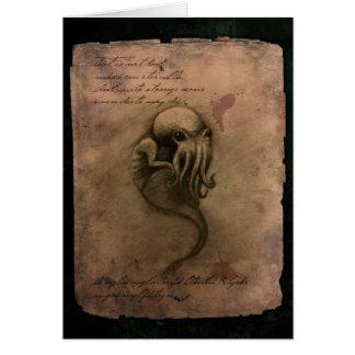 Cthulhu Spawn Card