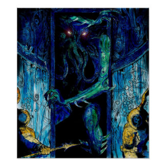 Cthulhu Spawn Poster