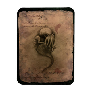 Cthulhu Spawn Rectangle Magnets