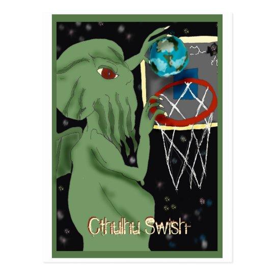 Cthulhu Swish Postcard