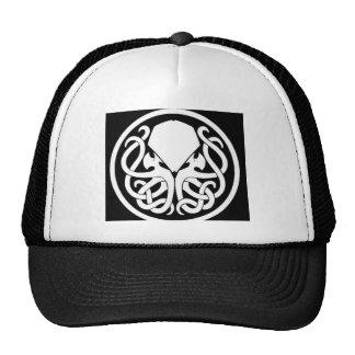 Cthulhu symbol trucker hat