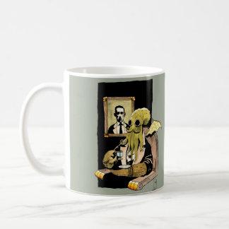 Cthulhu Taking Tea - Mug