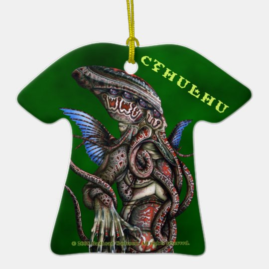 Cthulhu Tee Ornament