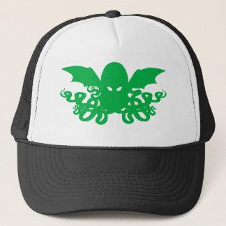 Cthulhu Trucker Hat - Green