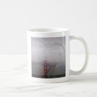 Cthulhu ve San Francisco Taza Básica Blanca
