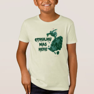 Cthulhu Was Here T-Shirt