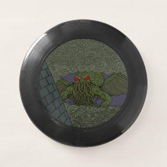 Cthulhu Wham-O Frisbee