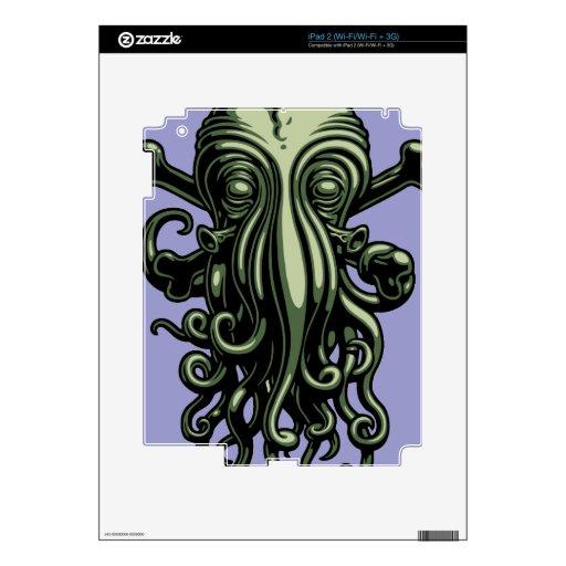 Cthulhu y bandera pirata calcomanía para iPad 2