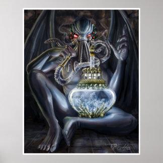 Cthulhu's Hooka V2 Poster