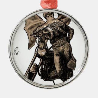 Cthulon Brando Metal Ornament