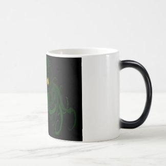 Cthulu art dark magic mug