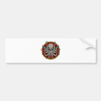 Cthulu Crest Bumper Stickers