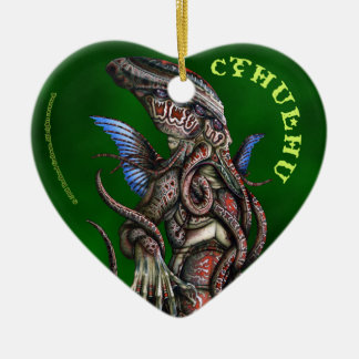 Cthulu Heart Ornament