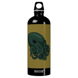 Cthulu Logo Aluminum Water Bottle