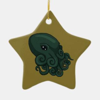 Cthulu Logo Ceramic Ornament